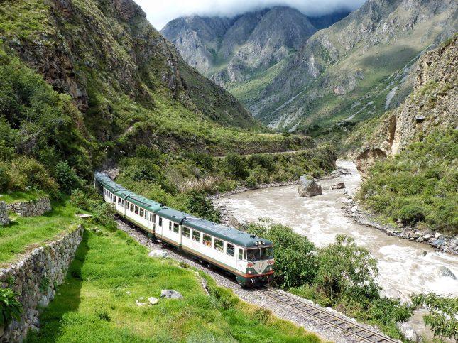 The train to Machu Piccchu