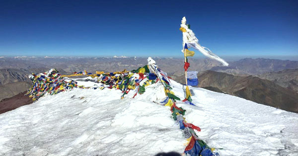 Stok Kangri Summit