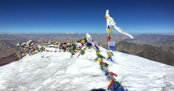 Stok Kangri Summit