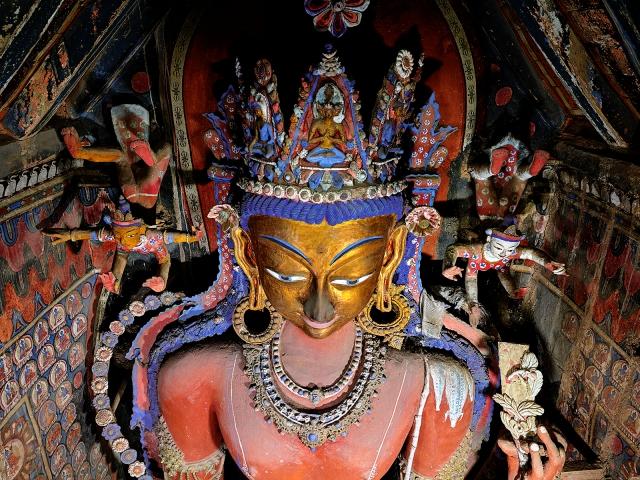 Maitreya-Sculpture