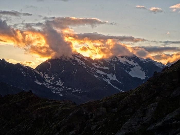 Mountains around the Gran Paradiso