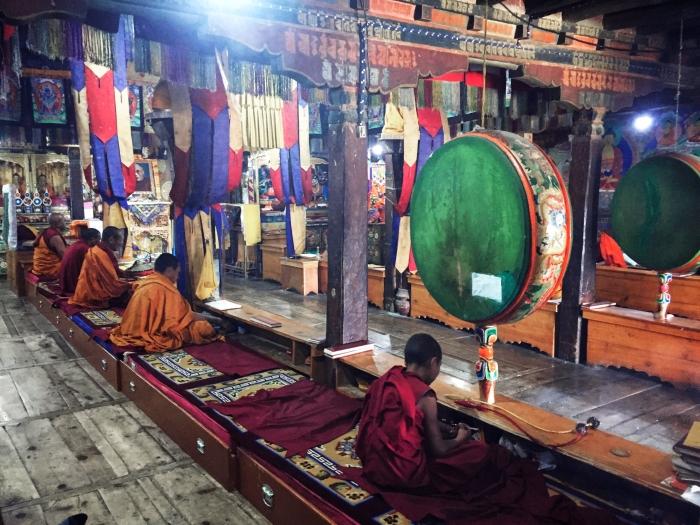 Thiskey Monastery interior
