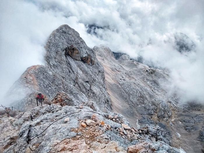 The famous Triglav Ridgeline