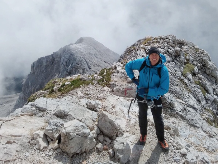 Start of the ridge from Mali Triglav