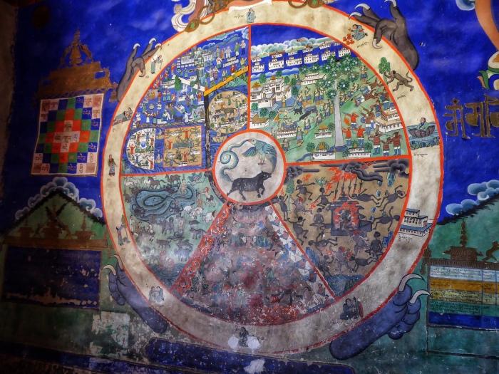 Bhavacakra(Wheel of Life)