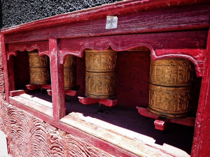 Prayer Wheels - Thiskey Monastery