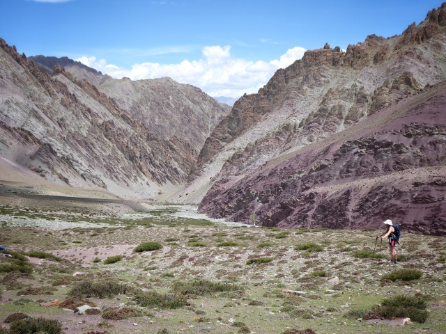 On the trail to Mathophu